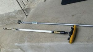 Curling Broom and Rock Extender For Sale $30