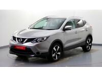 2015 Nissan Qashqai 1.2 DIG-T N-TEC+ Petrol silver Automatic