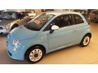 Fiat 500 1.2 ( 69bhp ) 2014MY Colour Therapy only 1 owner 25,728 miles