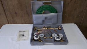 acetylene welding and cutting torch kit