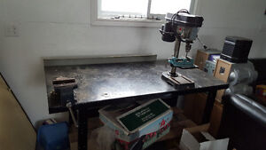 drill press work bench table