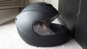 Brand new all matte black helmet
