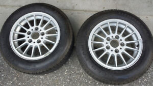 Tire with Alloy Rime For Sale