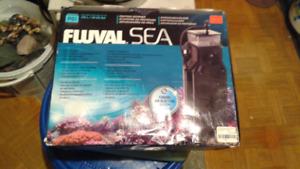 Skimmer fluval sea pour aquarium d eau sale