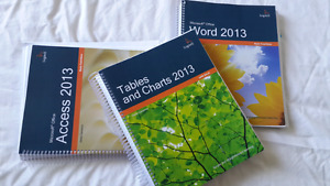 Microsoft Word, Excel and Access Books