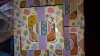 Hopping Easter! Set of 4 design cookies. Each box $8
