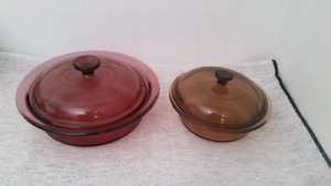 Corning Vision Casserole Round Glass Cooking Dishes