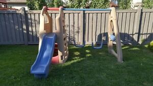 Step 2 – Playhouse, Swing and Slide – Price Reduced!