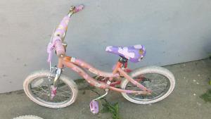 Various girls bikes