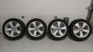 ORIGINAL BMW RIMS+WINTER TIRES 225/50R17 Dunlop Winter Runflat