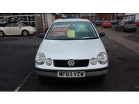 2003 VOLKSWAGEN POLO 1.2 E 55 3 Door From GBP1,695 + Retail Package