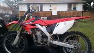 Honda crf 250 r parts bike or rebuild