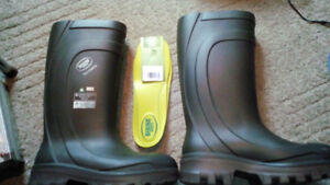 Sz 10 Bekina Mens Work Boots, Great Condition, No Leaks.