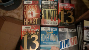 5 Hardcover James Patterson Books for $25