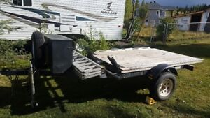 Quad/Sled/Bike trailer for Sale/Trade $900 obo