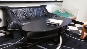 55 Inch Long Oval Black Ikea Coffee Table
