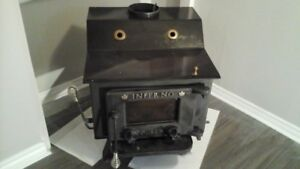 OLSEN INFERNO CAST IRON WOOD STOVE