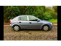 Vauxhall Astra 1.6, Years MOT, 79000 MILES, Full Service History