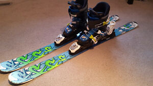 Kids Skis with bindings and boots