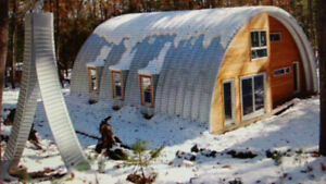 Quonset Steel Building. Two Available. Never erected.
