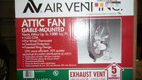 Attic Fan to Reduce summer heat