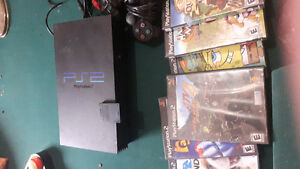 Ps2 plus 8 games and memory card