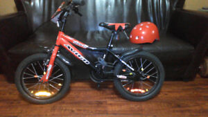 "Boys bike, 16"" tires"