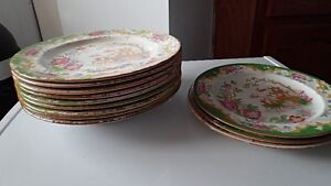 Antique Dishes Circa 1880's 20 pcs.* Open to Reasonable Offers*