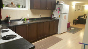 Two bedroom basement for rent in millwoods