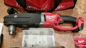 M18 FUEL 18-Volt Lithium-Ion Super Hawg 1/2 in Right Angle Drill