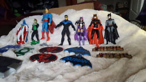 DC and MARVEL COMICS Action Figures