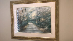Large picture frame 46 x 38 inches