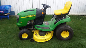 """John Deere L118 22hp lawn tractor with 42"""" deck WORKS GREAT!!"""