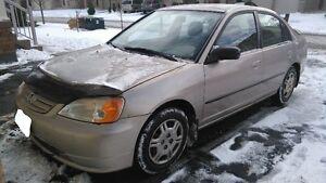 2002 Honda Civic Sedan - Only $750