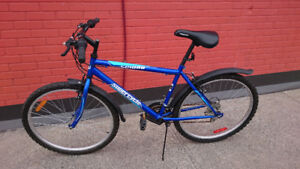 Blue Supercycle 1800 Hardtail Mountain Bike