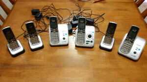 VTech DECT 6.0 Cordless Phone Set With Digital Answering Machine