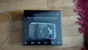 BRAND NEW BLACKMAGIC DESIGN POCKET CAMERA CINEMA SEALED BOX