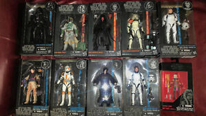 Star Wars Black Series and Vintage Collection