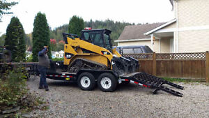 Tracked Skid steer for hire