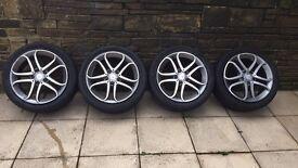 "Mercedes a class a180 alloy wheels 17"" sport"