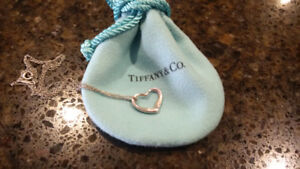 Tiffany and Co silver necklace and pendant