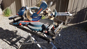 """Bosch 10"""" Mitre saw with Stand"""