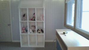 Doll House / shelf unit - custom built for American Girl dolls