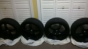 MSR Twin Spoke Wheels w/Pirelli Run Flats Cambridge Kitchener Area image 1