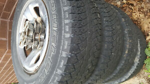 Used ram rims and tires