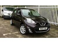 2015 Nissan Micra 1.2 Acenta 5dr with Sat Nav an Manual Petrol Hatchback
