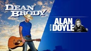 TONIGHT - DEAN BRODY AND ALAN DOYLE - BUDWEISER STAGE