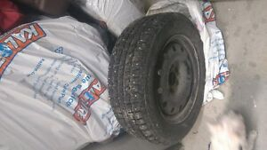 Certified Snow Tires on Rims