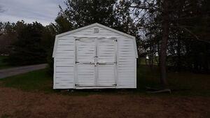 12' x 10' Mini Barn