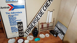 Canadian Railroad Collectibles LOT